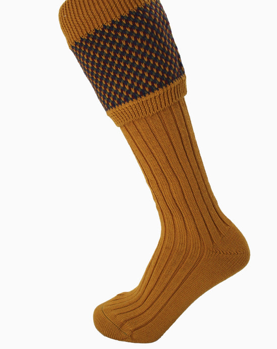 Tayside Sock in Ochre