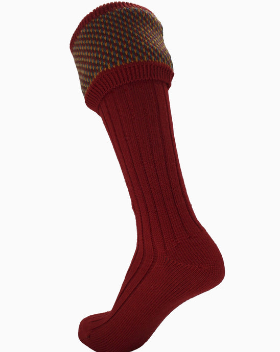 Tayside shooting sock