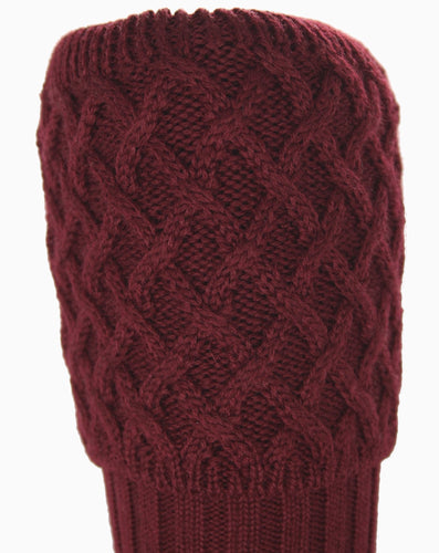 Rannoch Sock Burgundy