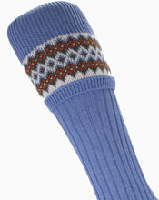 Load image into Gallery viewer, Bluebell Ladies Fair Isle Sock