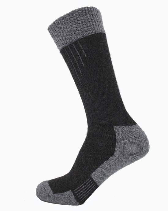 Lady Glen Socks Merino Wool  Charcoal