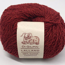 Load image into Gallery viewer, Scottish knitting wool, Di Gilpin Ruby Red