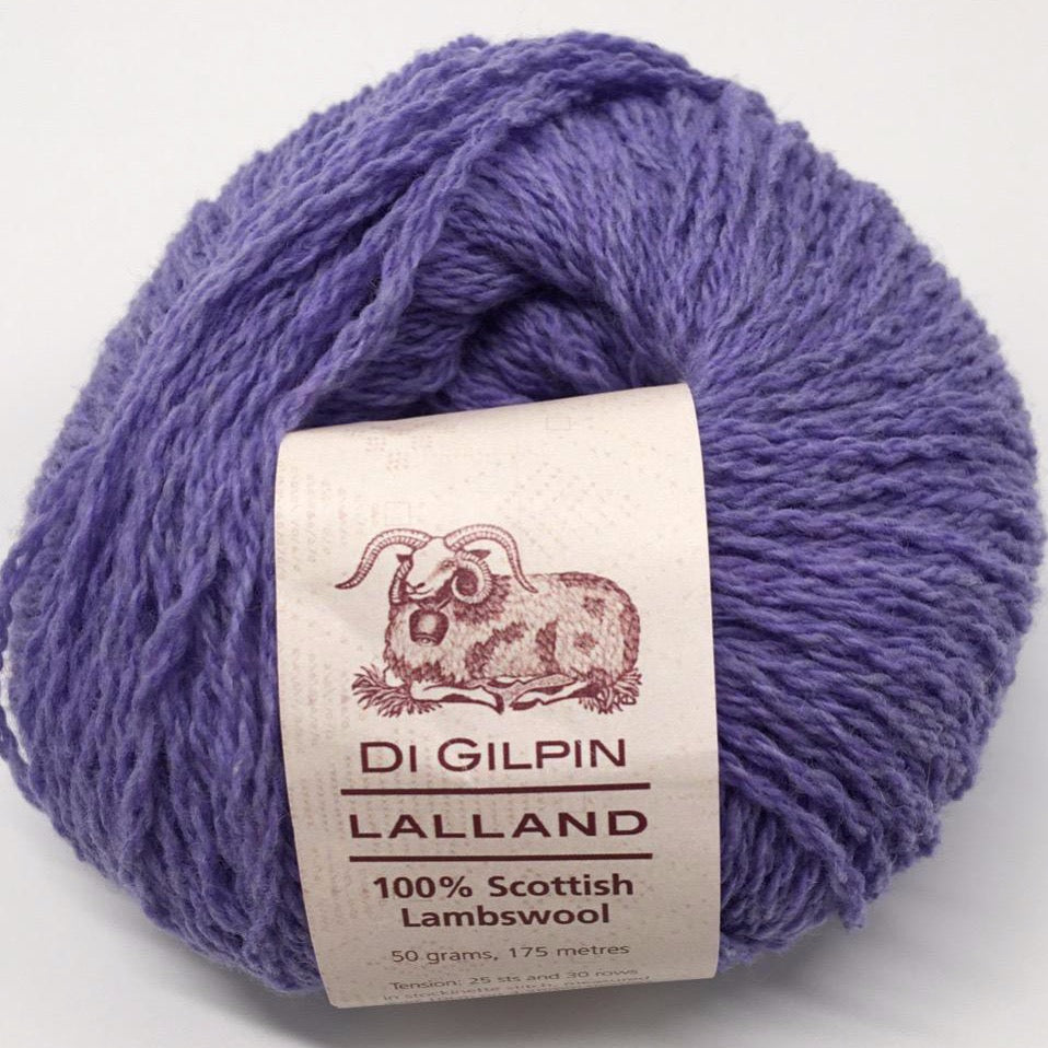 Scottish Knitting Wool, Harebell