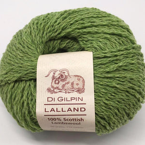 Spring Shoots bright green knitting wool