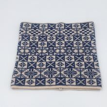 Load image into Gallery viewer, Blue and white saltire Fair Isle Cowl