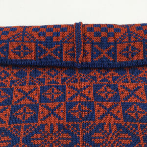 Luxury Fair Isle infinity scarf or neck cowl, made in Scotland
