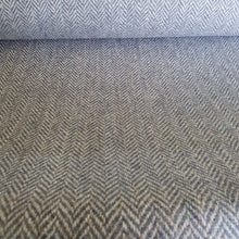 Load image into Gallery viewer, Ice Maple/Rabbit Grey Herringbone Harris Tweed