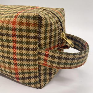 Tweed Toiletry Bag