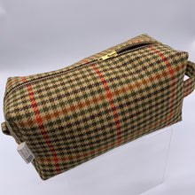 Load image into Gallery viewer, Tweed Toiletry Bag