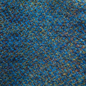 Harris Tweed Cloth Peacock Blue