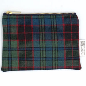 Stewart tartan small purse