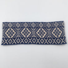 Load image into Gallery viewer, Reversible Fair Isle Headband