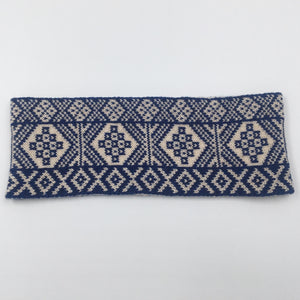 Reversible Fair Isle Headband