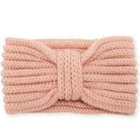 Cashmere Ear Warmer, Coral