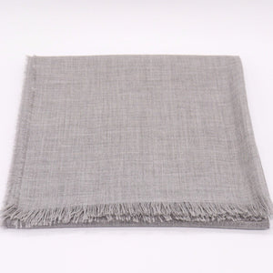 Cashmere Summer Stole, grey