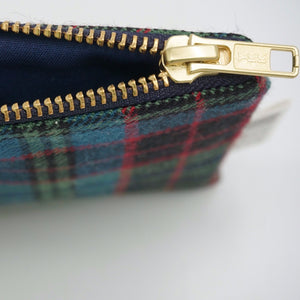 Stewart Old Muted tartan coin purse, made in Scotland  Edit alt text
