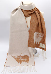 Highland Cow Scarf - Exclusive