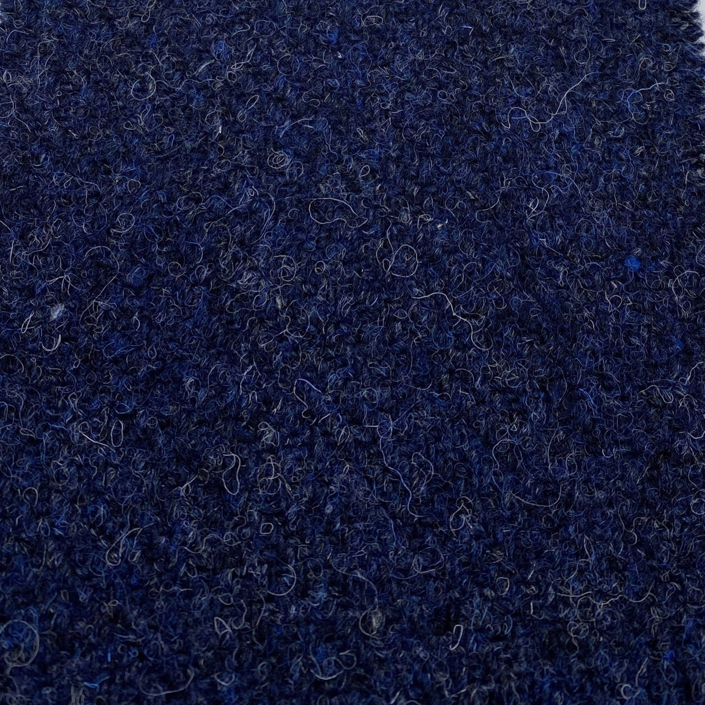 Indigo blue Harris Tweed cloth