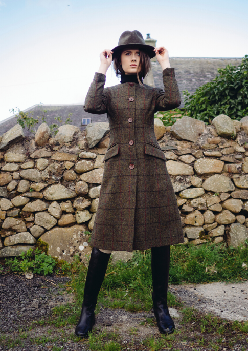 harris tweed Kay coat