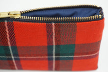 Load image into Gallery viewer, Tartan Bag, multi purpose Sinclair Red