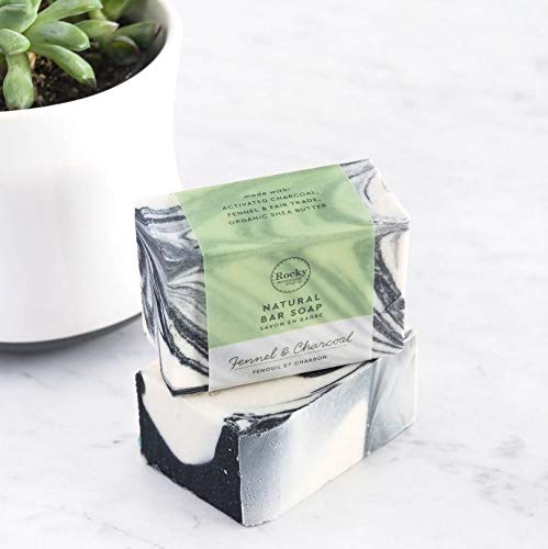 Fennel & Charcoal All Natural Bar Soap 100g