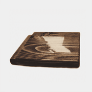 Set of 2 British Columbia Coasters (Recycled Wood)