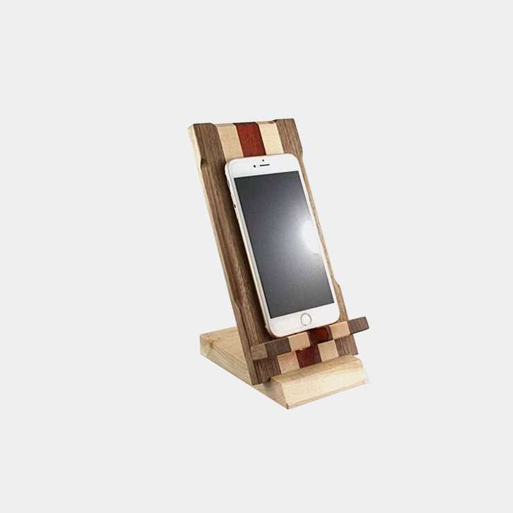 Hardwood Cell Phone Stand