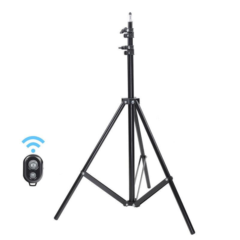 Portable Tripod Stand With Bluetooth Remote Control
