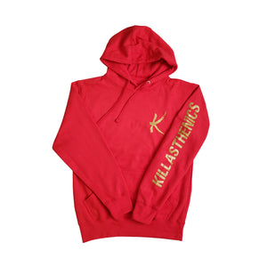 3.0 Hoodie: Gold/Red
