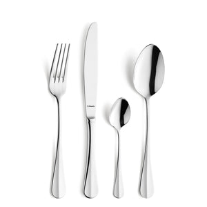 Amefa Baguette Stainless Steel Cutlery Set, 24-Pieces