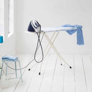 Brabantia Cotton Flower Steam Iron Rest with Fresh White Frame