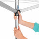Brabantia Essential 3 Arms Rotary Drying Stand, 30 metres