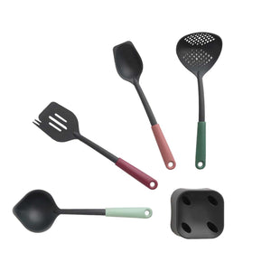 Brabantia Kitchen Utensil Set with Stand