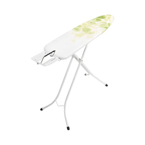 Brabantia Leaf Clover Steam Ironing Board with Fresh White Frame - 124x34cm
