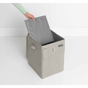 Brabantia Stackable Laundry Bag, 35 litre - Grey