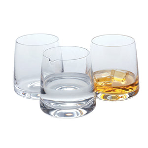 Dartington Classic Whisky Gift glass, Set of 3