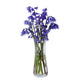 Dartington Crystal Florabundance Bluebell Flower Vase