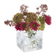 Dartington Crystal Marguerite Square Flower Vase