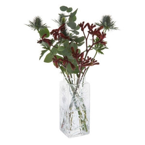 Dartington Crystal Marguerite Tall Flower Vase