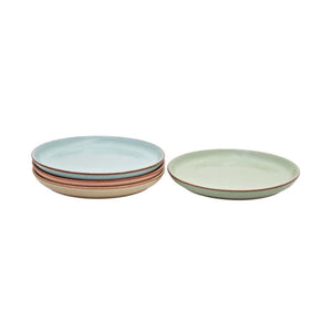 Denby Always Entertaining Deli Medium Coupe Plate, Set of 4