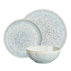 Denby Speckle Dinner Set, Set of 12