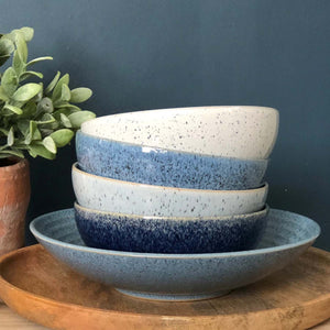 Denby Studio Blue Cereal Bowl, Set of 4