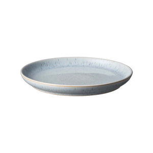 Denby Studio Blue Pebble Medium Coupe Plate