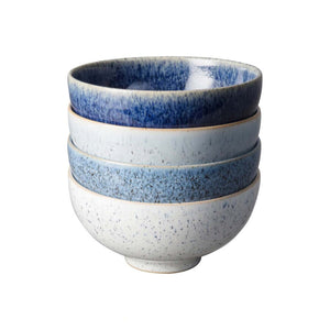Denby Studio Blue Rice Bowl, Set of 4