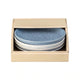 Denby Studio Blue Small Coupe Plate, Set of 4