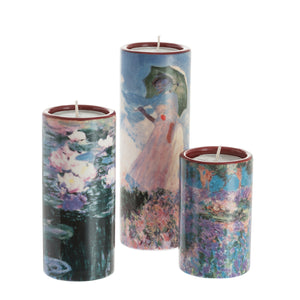 John Beswick Monet Tealight Holders Set, Set of 3