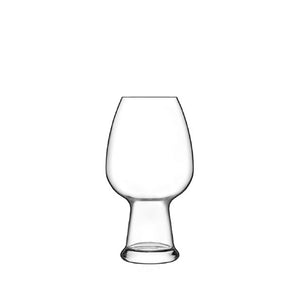 Luigi Bormioli Birrateque Craft Beer Wheat Glass Set, Set of 2