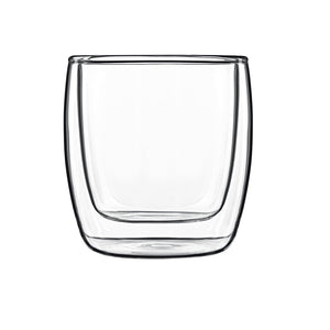 Luigi Bormioli Michelangelo Thermic Food & Design 240ml Glass Set , Set of 2