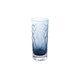 Royal Brierley Harris Ink Blue Crystal Highball Glass