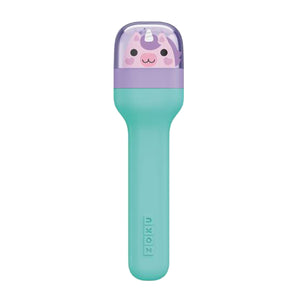 Zoku Stainless Steel Kids Pocket Utensil Set - Unicorn
